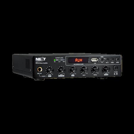 MX120 Mixer și Amplificator cu Bluetooth 5.0 și telecomandă0