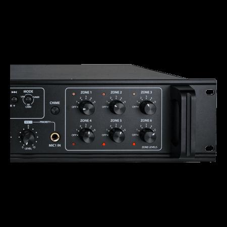 MX350 Mixer și Amplificator de linie cu 6 zone și telecomandă2