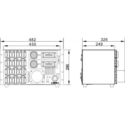 Distributie de curent Briteq PD-63SH/GERMAN [11]
