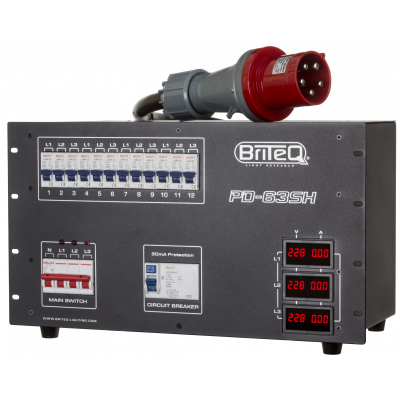 Distributie de curent Briteq PD-63SH/GERMAN2