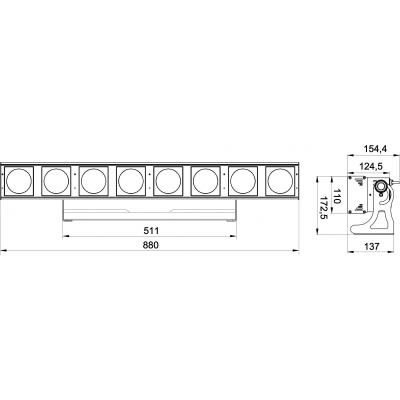 Bara LED Briteq Powerpixel8-RGB [5]