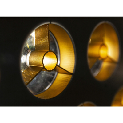 Profile Briteq BT-NONABEAM set 9 louvers GOLD1