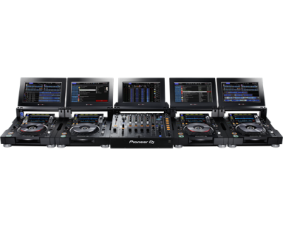 PIONEER DJ DJM-TOUR1 Mixer cu 4 canale pentru sistem TOUR, cu ecran tactil pliabil4