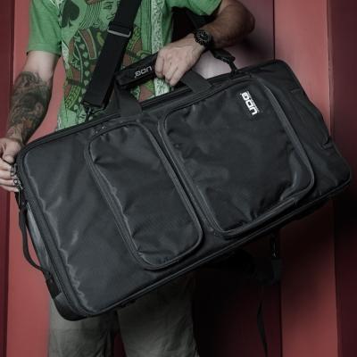 UDG Ultimate MIDI Controller Backpack Large Black/Orange Inside MK23