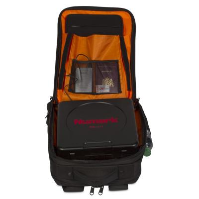 UDG Ultimate Backpack Slim BlackOrange Inside [7]