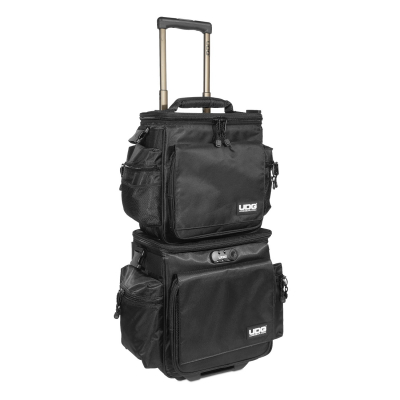 UDG Ultimate SlingBag Trolley Set DeLuxe BlackOrange Inside MK24