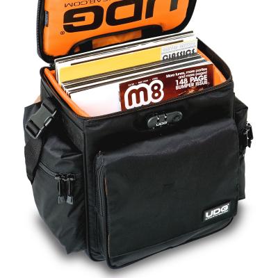 UDG Ultimate SlingBag Trolley DeLuxe Black, Orange Inside MK2 [5]