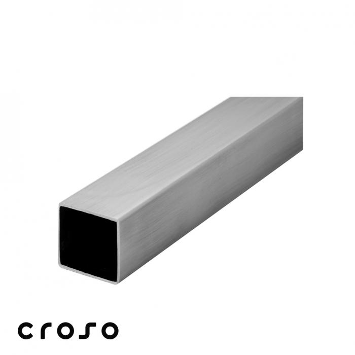 Teava 40 x 40 x 2,0 x 6.000 mm Material AISI 304 Diametru tub [mm] 40 X 40 X 2 Finisaj Satinat 1