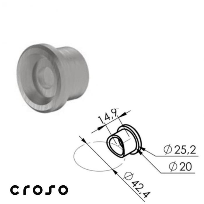 adaptor Ø42,4 pt 60x50 [0]
