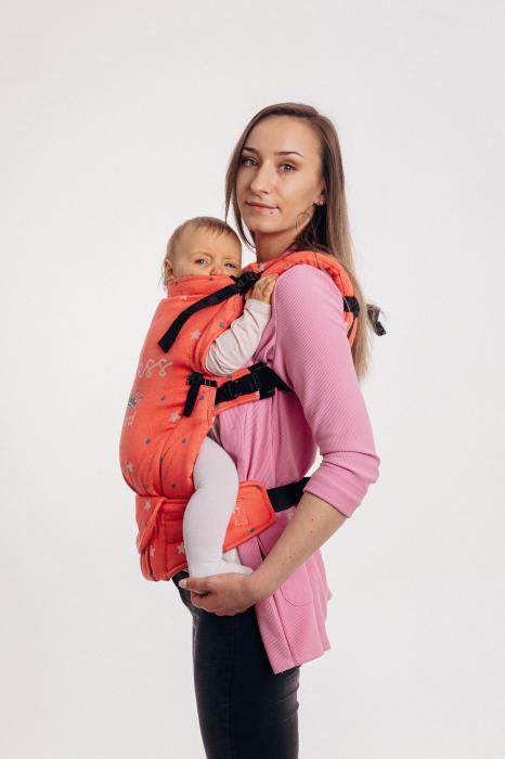 Marsupiu reglabil LennyUpGrade BABY ON BOARD PRINCESS [3]