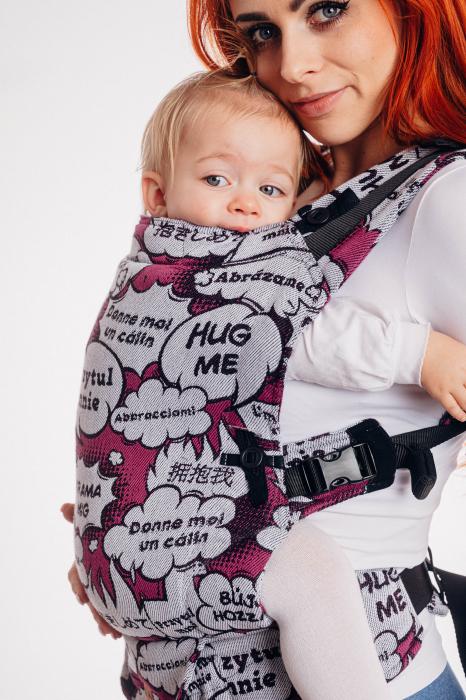 Marsupiu reglabil Lenny UpGrade HUG ME PINK [0]