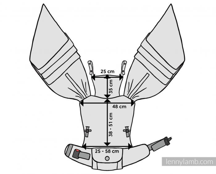Marsupiu reglabil LennyHybrid Preschool Clockwork Perpetuum [4]
