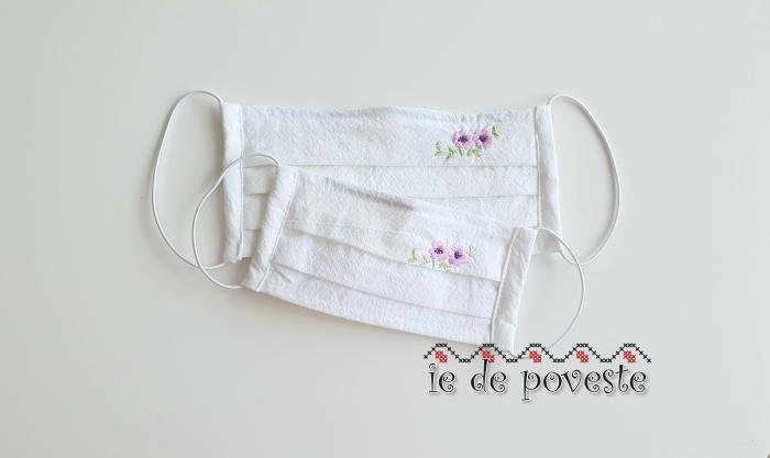 Masca din bumbac premium Spring Flower- copii [0]