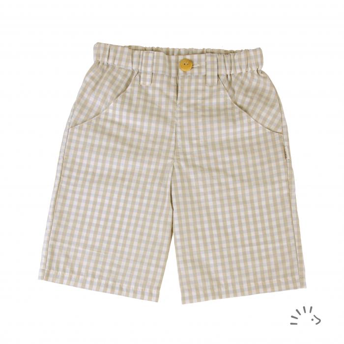 Pantaloni scurti din bumbac organic- Iobio Popolini- Monaco [0]