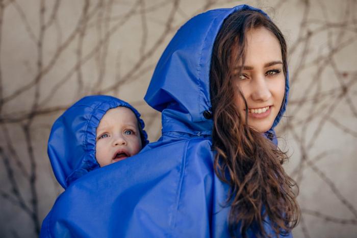 Pelerina de ploaie pentru babywearing -marime L/XL [5]