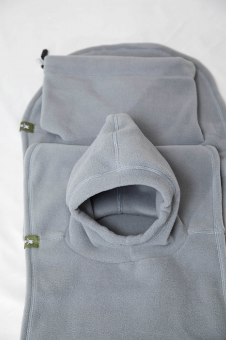 Pieptar polar fleece Turtleneck for Two Grey [2]