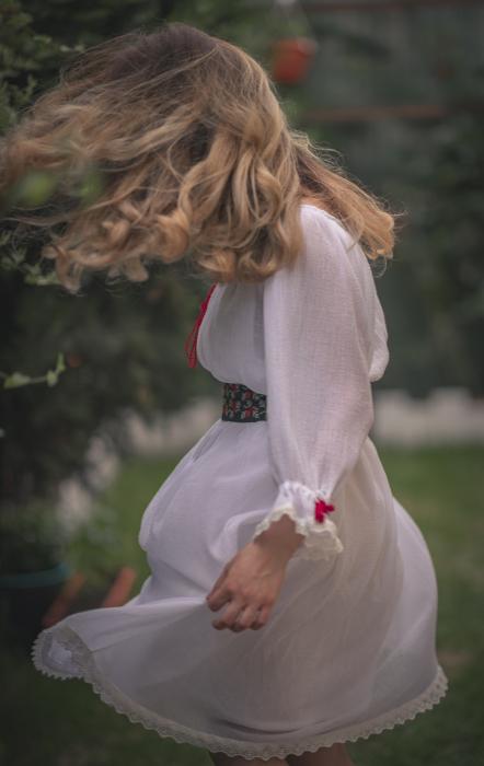 Rochie tunica Sanziana, cu brau detasabil [2]