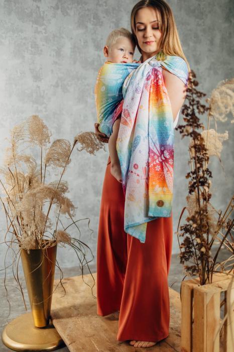 Sling cu inele LenyLamb DRAGONFLY RAINBOW- Grade B [3]