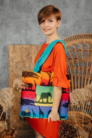 Geanta de umar Rainbow Safari Lenny Lamb [0]