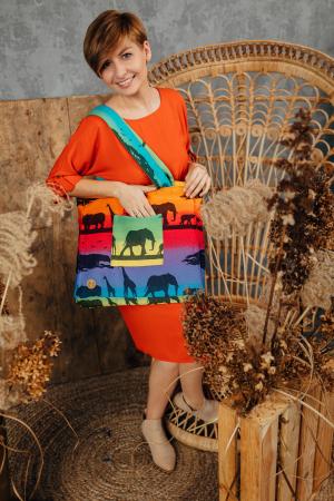 Geanta de umar Rainbow Safari Lenny Lamb [1]