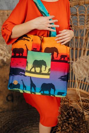 Geanta de umar Rainbow Safari Lenny Lamb [2]