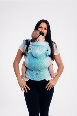 Marsupiu LennyGo Baby Size BIG LOVE ICE MINT [0]