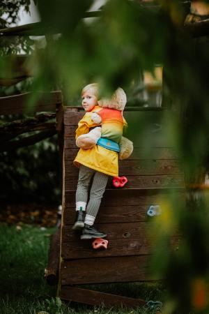 Marsupiu Jucarie RAINBOW BABY [7]