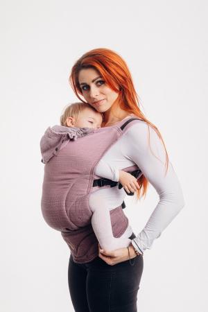 Marsupiu LennyGo Baby Size LITTLE HERRINGBONE OMBRE PINK [0]