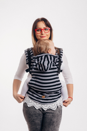 Marsupiu LennyGo Toddler Size- LIGHT AND SHADOW [1]