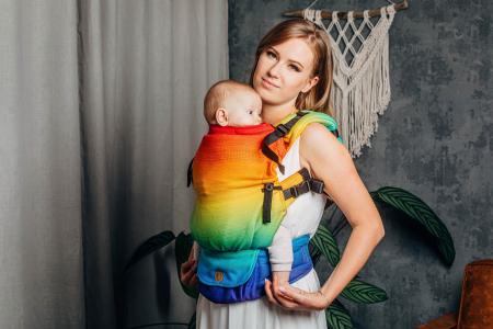 Marsupiu reglabil Lenny UpGrade RAINBOW BABY [9]