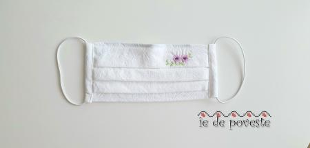 Masca din bumbac premium Spring Flower- copii [1]