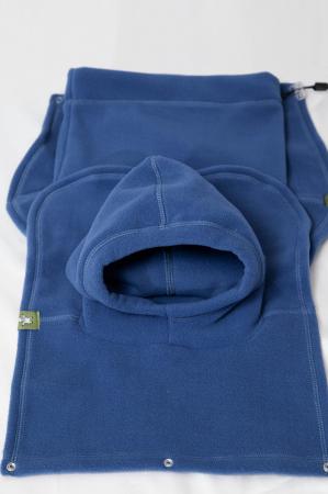 Pieptar polar fleece Turtleneck for Two Blue [1]