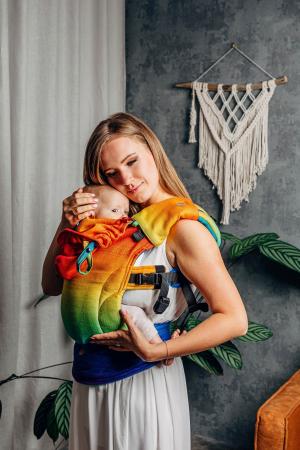 Protectii bretele LennyLamb - Rainbow Baby [2]