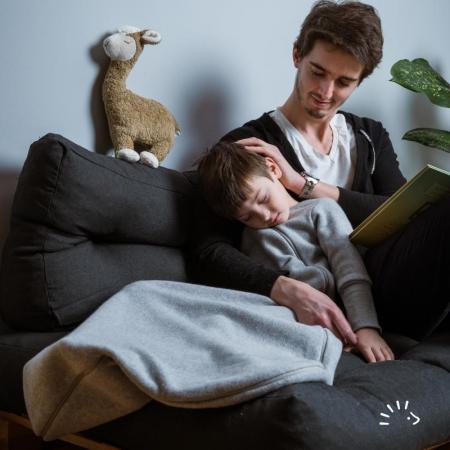 Sac de dormit pentru bebelusi - Beige Melange [2]