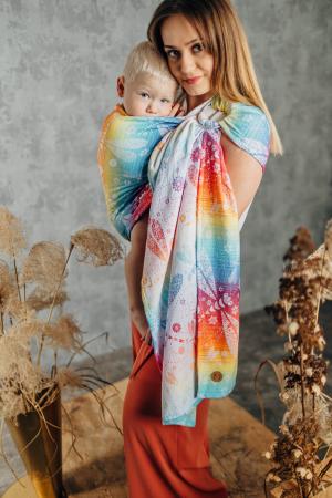 Sling cu inele LenyLamb DRAGONFLY RAINBOW- Grade B [1]