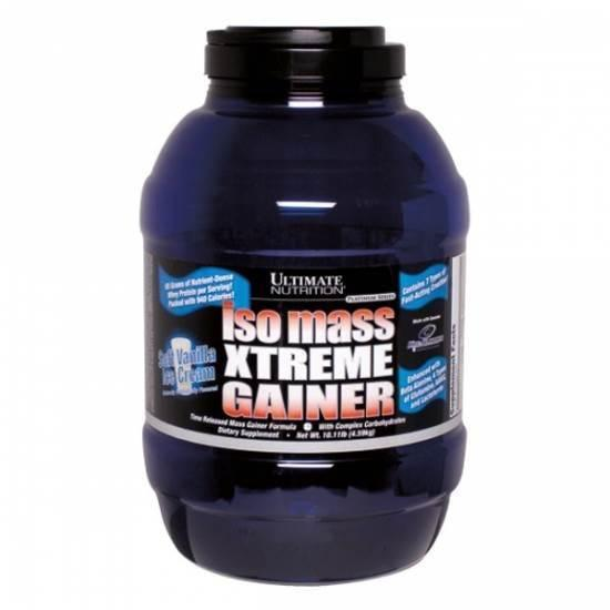 Ultimate Nutrition Iso Mass Xtreme Gainer 4.59 kg 0