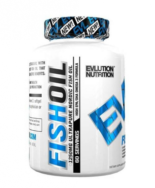 Evlution Nutrition EVL FISH OIL 60 Softgels 0