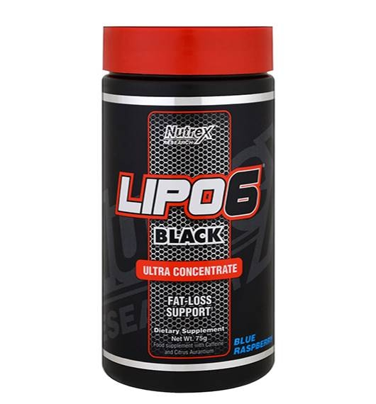 Lipo 6 Black Ultra Concentrate Powder 70 g Nutrex 0