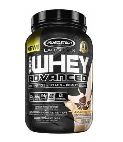 Muscle-Tech Lab series 100% whey Advanced 2lb 0.907 g 0