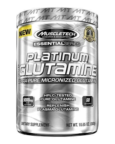 MuscleTech Platinum 100% Glutamine 300 g 0
