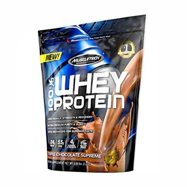 Muscletech 100% Whey Protein 5 Lbs 2.27 kg 0