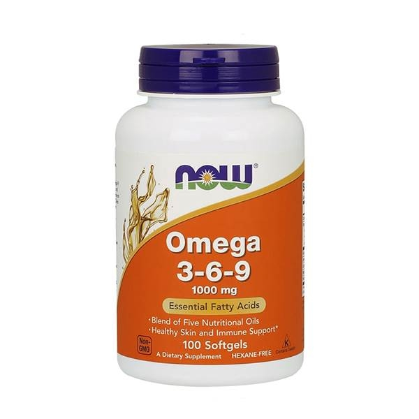 Now Foods Omega 3-6-9 1000mg 100 Softgels 0