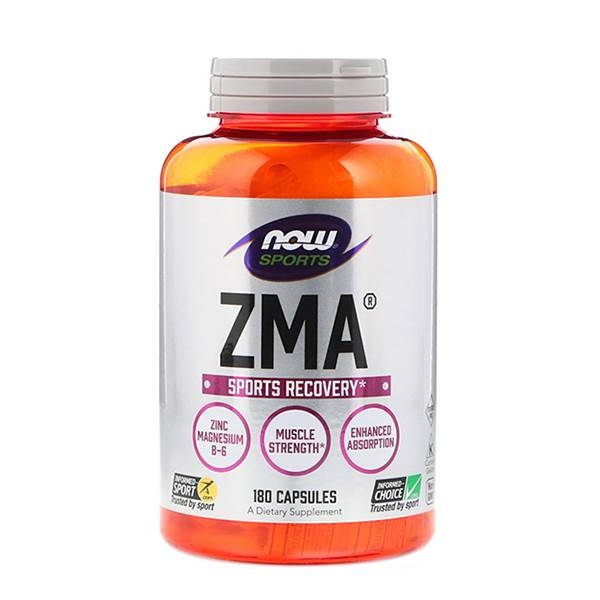Now Foods ZMA Sports Recovery 180 Capsule 0