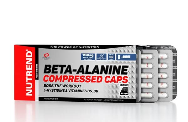 Nutrend Beta Alanine Compressed 90 capsule 0
