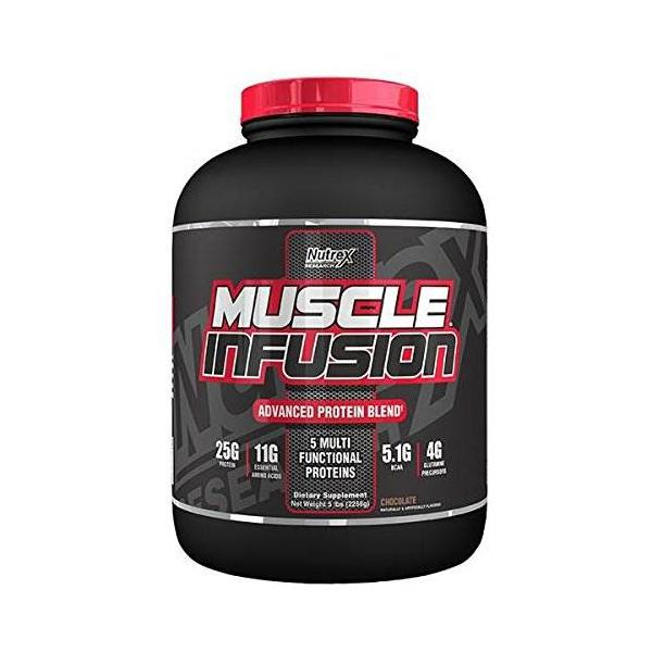Nutrex Muscle Infusion 5 lbs 2.2 kg 0