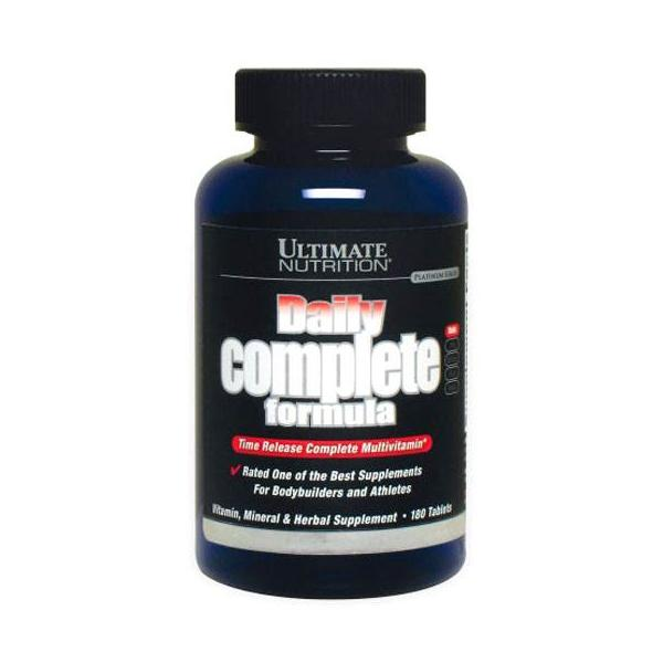 Ultimate Nutrition Daily Complete Formula 180 tablets 0