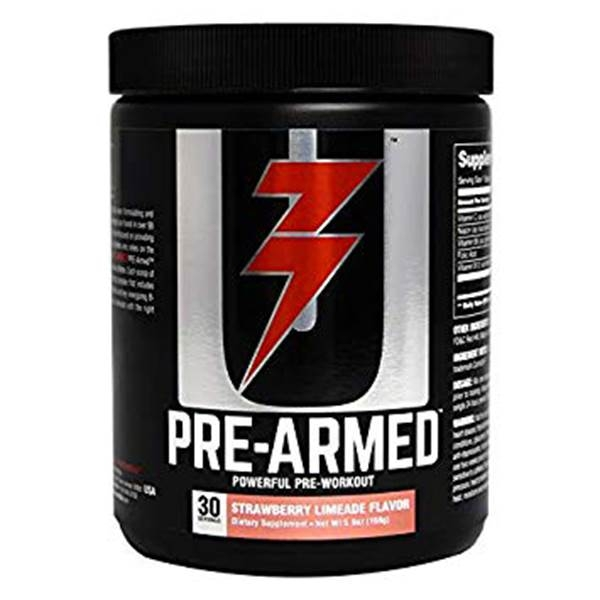 Universal Nutrition Pre-Armed Pre workout 30 serv 0