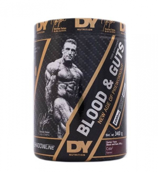 Dorian Yates Nutrition PreWorkout Blood and Guts 340 g 0