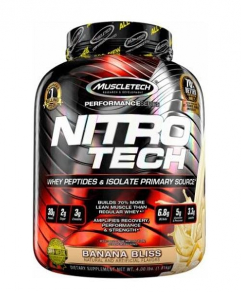 MuscleTech Nitro-Tech Performance Series - 1.8 kg 0
