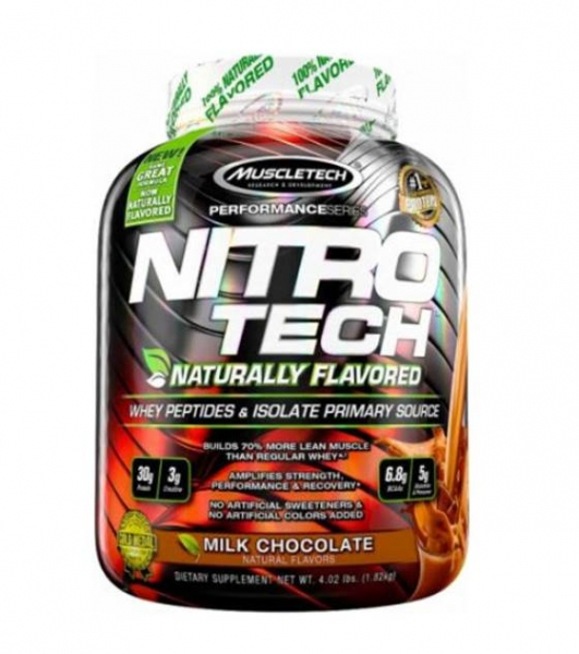 Nitro Tech 4lb 1.81 Kg Naturally Flavoured MuscleTech 0